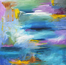 At The Water's Edge by Linda O'Neill (Acrylic Painting)