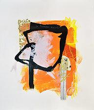 Uninhibited 2 by Linda O'Neill (Mixed-Media Painting)