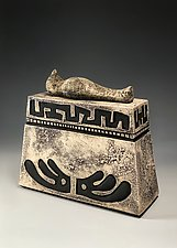 Resting Spirit Urn by Eric Pilhofer (Ceramic Box)