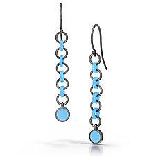 Cascade Earrings by JacQueline Sanchez (Silver Earrings)