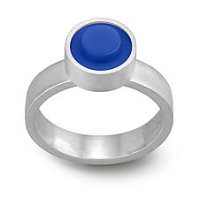 Forever Young Dot Ring by JacQueline Sanchez (Silver & Plastic Ring)