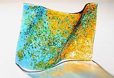 Unleashing the Sun by Lisa Becker (Art Glass Sculpture)