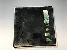 Metallic by Lisa Becker (Art Glass Wall Sculpture)