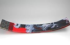 Cyclone by Lisa Becker (Art Glass Sculpture)