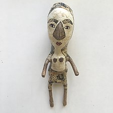Small with Big Nose by Tiffany Ownbey (Mixed-Media Wall Sculpture)
