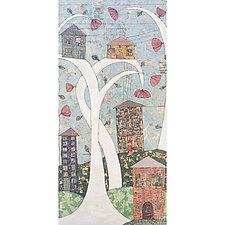 The Neighborhood by Tiffany Ownbey (Acrylic Painting)