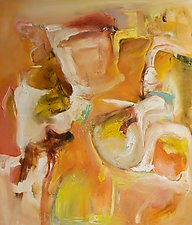 Tuscan Fall by Anne B Schwartz (Oil Painting)