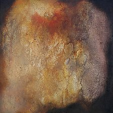 Ceylon Sapphire by Anne B Schwartz (Acrylic Painting)
