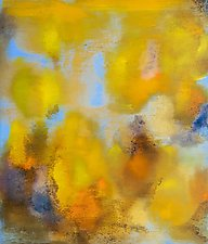 Aspen Trees Allure by Anne B Schwartz (Acrylic Painting)