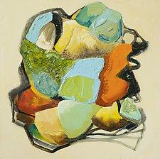 Hidden Gems l by Anne B Schwartz (Acrylic Painting)