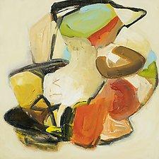 Hidden Gems ll by Anne B Schwartz (Acrylic Painting)
