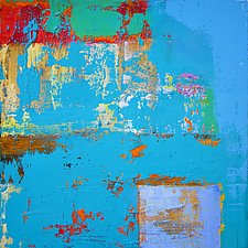 Gratta Azzurra by Anne B Schwartz (Acrylic Painting)
