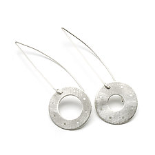 JoJo Sterling Silver Earrings by Jackie Jordan (Silver Earrings)