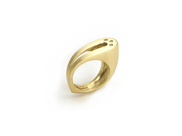 Gold Loop Ring