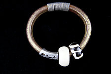 Quintessential Leather Bracelets by Phyllis Clark (Leather & Beaded Bracelets)