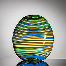 Deep Forest by Martin Ehrensvard (Art Glass Sculpture)