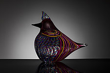 Lark by Martin Ehrensvard (Art Glass Sculpture)