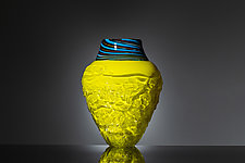 Happy Fossil Vessel by Martin Ehrensvard (Art Glass Vessel)