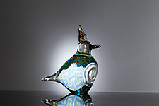 Gull by Martin Ehrensvard (Art Glass Sculpture)