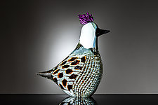 Tanager by Martin Ehrensvard (Art Glass Sculpture)