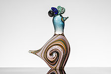 Hoopoe II by Martin Ehrensvard (Art Glass Sculpture)