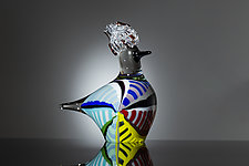 Touraco by Martin Ehrensvard (Art Glass Sculpture)
