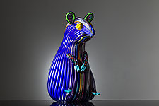 Mouse by Martin Ehrensvard (Art Glass Sculpture)