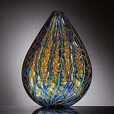 Leaf by Martin Ehrensvard (Art Glass Sculpture)