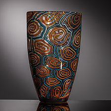 Sunset by Martin Ehrensvard (Art Glass Vase)