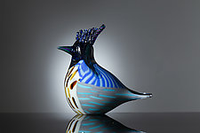 Hoopoe by Martin Ehrensvard (Art Glass Sculpture)