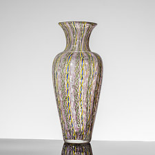 Filigree Amphora by Martin Ehrensvard (Art Glass Vase)