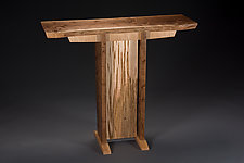Earth Wisdom  Console Table by Tony Casper (Wood Console Table)