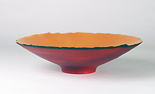 Small Low Prosperity Bowl by Cheryl Williams (Ceramic Bowl)