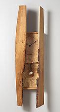 Ovopendulum II by Peter F. Dellert (Wood Wall Clock)