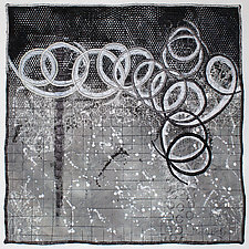 Surfaces #30 by Michele Hardy (Fiber Wall Hanging)