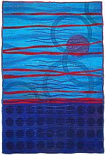 Geoforms: Strata 1 by Michele Hardy (Fiber Wall Hanging)