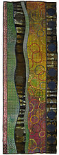 Geoforms: Porosity No.14 by Michele Hardy (Fiber Wall Hanging)