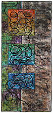 Surfaces #3 by Michele Hardy (Fiber Wall Hanging)