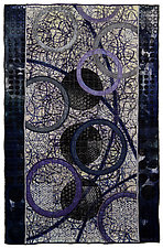 Geoforms: Porosity No.16 by Michele Hardy (Fiber Wall Hanging)