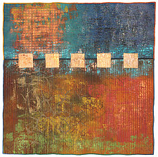 Surfaces #11 by Michele Hardy (Fiber Wall Hanging)