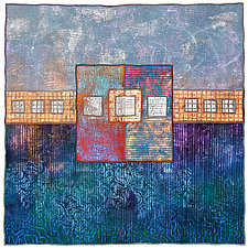 Surfaces #15 by Michele Hardy (Fiber Wall Hanging)