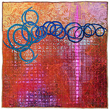 Surfaces #27 by Michele Hardy (Fiber Wall Hanging)