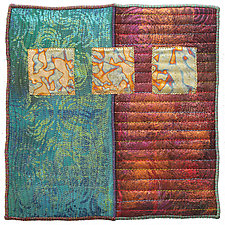 Surfaces #29 by Michele Hardy (Fiber Wall Hanging)