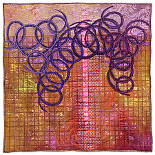 Surfaces #28 by Michele Hardy (Fiber Wall Hanging)