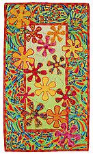 Flower Power II by Michele Hardy (Fiber Wall Hanging)
