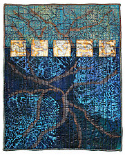 Surfaces #19 by Michele Hardy (Fiber Wall Hanging)
