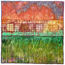 Surfaces No.13 by Michele Hardy (Fiber Wall Hanging)
