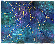 Mapforms #10 by Michele Hardy (Fiber Wall Hanging)