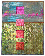 Surfaces #21 by Michele Hardy (Fiber Wall Hanging)