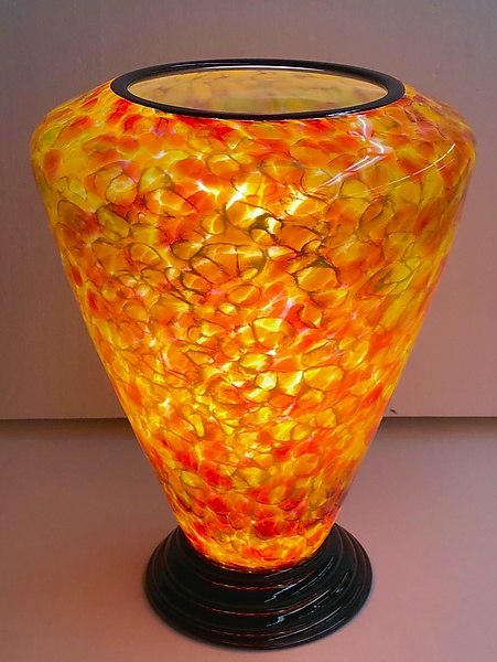 Blown Glass Lamp V
